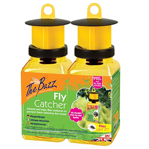 the-buzz-fly-catcher-super-effective-refillable-insect-attractant-for-outdoor-use-covers-up-to-10-m-