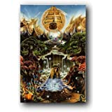 Labyrinth Falls Poster R Biffle Art Psychedelic A-17Dh by Poster Revolution