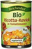 Reichenhof Ricotta-Ravioli in Tomatensauce vegetarisch, 6er Pack (6 x 400 g)