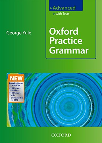 Oxford Practice Grammar Advanced with Answers + Practice-Boost CD-ROM: With Key Practice-boost CD-ROM Pack Advanced level