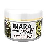 !Nara Naturkosmetik After Shave Creme 50 ml pflegende Creme für Herren gegen Hautrötungen und Irritationen mit beruhigender entzündungshemmender Wirkung nach der Rasur - parabenfrei