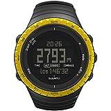 Suunto Core Regular - Reloj deportivo negro y amarillo Talla:talla única