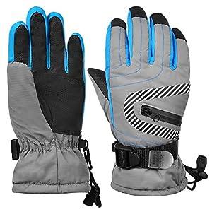 RUNACC Kinder Winter warme Handschuhe wasserdicht Schnee Skihandschuhe Kinder Sporthandschuhe zum Rodeln Radfahren Snowboarden und vieles mehr