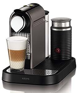 krups xn 730t cafeti re dosettes nespresso new citiz milk r servoir eau 1 l 1 aeroccino. Black Bedroom Furniture Sets. Home Design Ideas