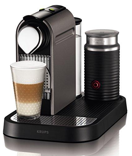 Krups XN 730T Kapselmaschine Nespresso New CitiZ&milk (1 L Wasserbehälter, mit Aeroccino3)...