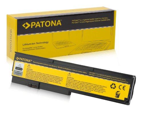 PATONA Laptop Akku für IBM X200 | X 200 | X200s | X 200 s - [ Li-ion; 4400mAh; schwarz ] ($200 Unter Netbook-computer)