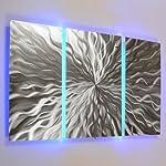"""""""kosmischen Energie, LED Panel"""" 3Farbe wechselnde LED-Metall Wand Kunst, Skulptur Abstrakt Modern Gemälde Decor RGB"""