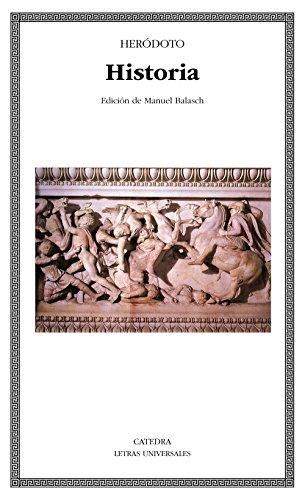 Historia (Letras Universales) por Heródoto