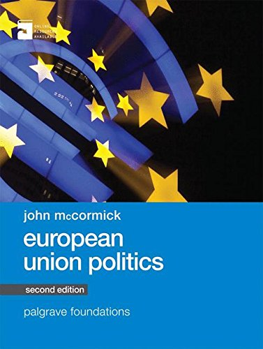 European Union Politics (Palgrave Foundations Series) por John McCormick