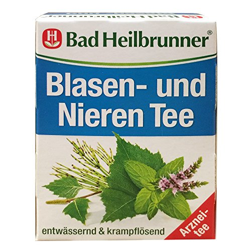 Bad Heilbrunner Blasen und Nieren Tee (8 Beutel, Packung)
