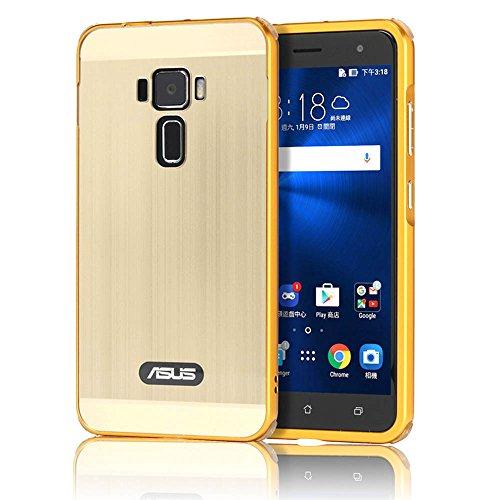 asus-zenfone-3-ze552kl-funda-sunroyalr-mirror-oro-dorado-metal-frame-aluminum-marco-pc-espalda-carca