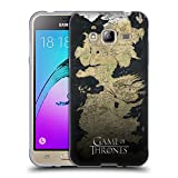 Officiel HBO Game Of Thrones Westeros Carte Art Clé Étui Coque en Gel molle pour Samsung Galaxy J3