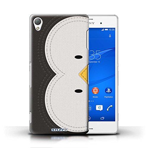 Kobalt® Imprimé Etui / Coque pour Sony Xperia Z3 / Tigre conception / Série Cousu des Animaux Effet Manchot