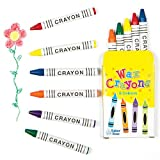 Baker Ross Mini Pastelli a Cera per Bambini per Disegnare e Colorare Progetti Artistici e Creativi (confezione da 8 scatole)