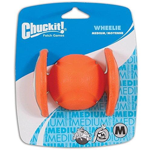 Chuckit! CU0520820 Wheelie, 1 Jagen Ball kompatibel mit Hund Werfer, M