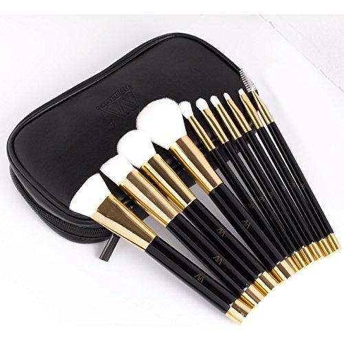 value-makers-10pcs-belleza-maquillaje-pincel-de-maquillaje-set-de-pelo-sintetico-negro-golden-kabuki