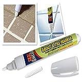 BangLe Boiacca Fliesenmarker Reparaturstift Praktische Wand weiß Fliesen ungiftig Reparatur Werkzeug