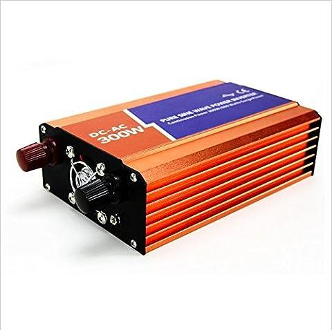 mabelstar 300W Power Inverter 24VDC 230VAC Peak Power 600W netzferne reiner Sinus Wechselrichter