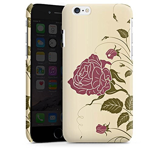 Apple iPhone 5 Housse Étui Silicone Coque Protection Roses Roses Roses Cas Premium brillant