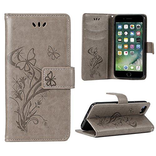 OFU® Funda Piel para BLUBOO S8 5.7' Smartphone Case,Soporte Plegable, Billetera para Tarjetas, Cierre Magnetico,Flip...