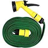 Quirk Multifunction Water Spray Garden Hose Promptout Squirt Gun 10 Meter Water Spray Gun For Home Bike Car Cleaning Gardening Plant Tree Watering Wash - Multifunction Garden Hose 10 L Hose-end Sprayer (Pack Of 1)