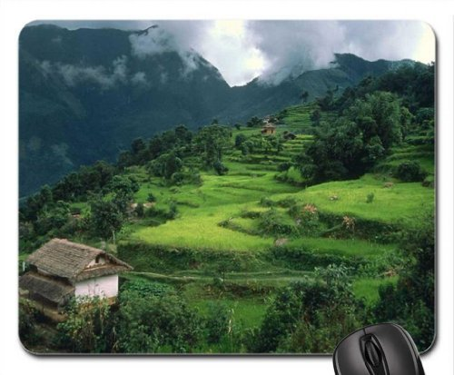 num-village-arun-river-region-nepal-mouse-pad-mousepad-mountains-mouse-pad