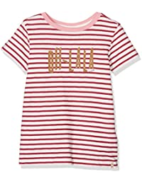 Scotch R'Belle Mädchen T-Shirt Tee with Contrast Neck Binding