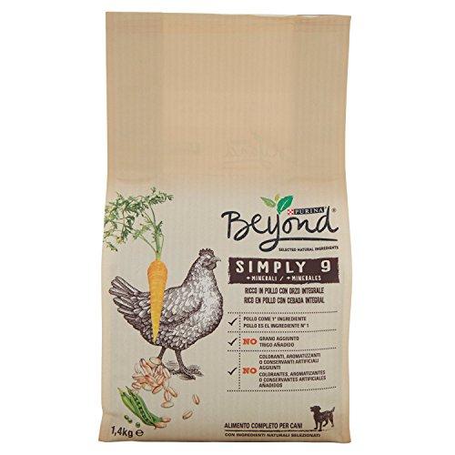 Purina Beyond® Simply 9 croccantini per cani Ricco in Pollo con orzo integrale 1,4 kg