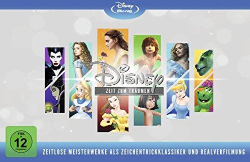 Disneys zeitlose Meisterwerke (Animation & Live Action) [Blu-ray] [Limited Edition] (Box-set Walt Disney)