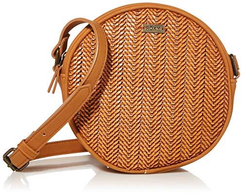 Roxy Damen Dream State Round Crossbody Bag Umhängetasche, camel, Einheitsgröße