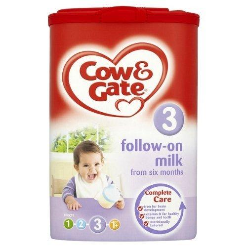 Cow & Gate leche continuación seis meses Etapa 3