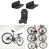 Fahrradhalter Wandhalterung Fahrrad Pedal Haken Radhalter Metall Shop Ausstellungsstand Garage Innen Aufbewahrungshalterung Haken Schwarz