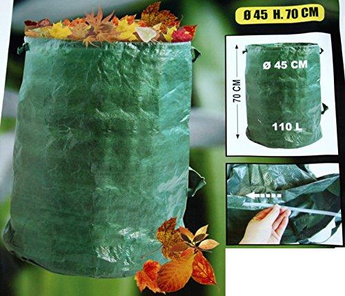 Gartensack 4 Stk Laubsack -K&B Vertrieb- Rasensack Abfallsack Gartenabfallsack Gartensäcke 631