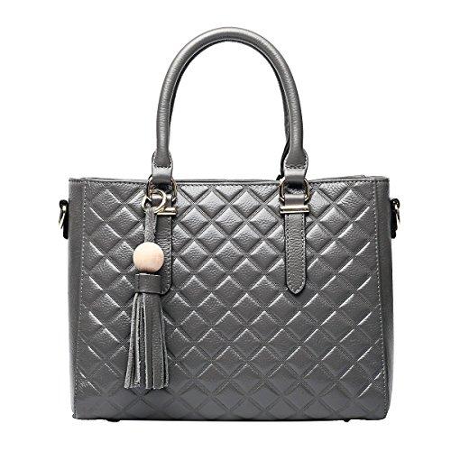Mena UK-Femmes occasionnels à grande capacité en cuir souple sac à bandoulière / sac à bandoulière / Messenger Bag / Tote Bag / Tassel Pack