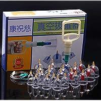 BG-YUFI YF Schröpfen Glas, 24 Dosen Vakuum Magnetische Schröpfvorrichtung Haushalt Pumpen Schröpfen Tasse - preisvergleich bei billige-tabletten.eu