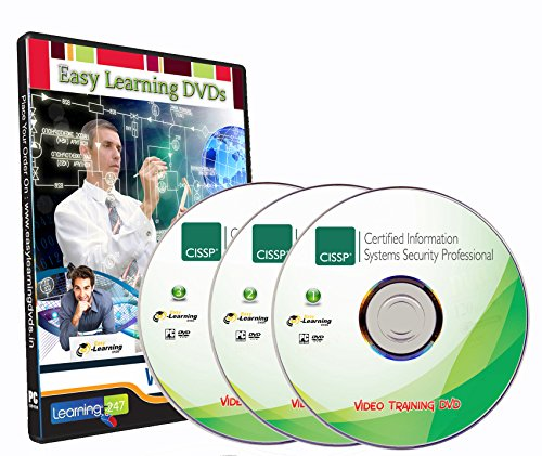 CISSP Certification 2016 Video Training 8 Domains On 3 DVDs
