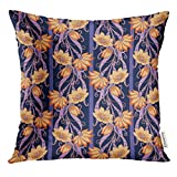 Funda de Almohada Morris Vintage Floral William Abstract Ages Antique Decorative Pillow Case Home Decor Square 18x18 Inches Pillowcase