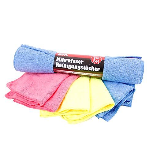 Preisvergleich Produktbild Mikrofaser Reinigungstücher 12 er Set 40x30 cm - Reinigungstücher ideal für Auto, Haushalt und Hobby
