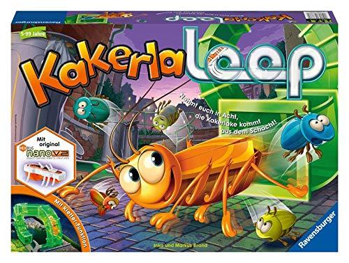 Kakerlaloop: Nehmt Euch in Acht, die Kakerlake kommt aus dem Schacht!