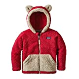 Patagonia Baby Furry Friends Hoody Classic Red 4T (Kids)