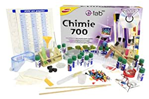 Joustra - 47003 - Jeu Éducatif et Scientifique - Jeu Scientifique - Chimie 700 - E=Lab