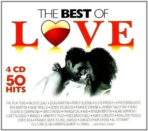 4 CD the Best Of Love, Vasco Rossi, Mia Martini, Massimo Ranieri 100 Canzoni D'Amore