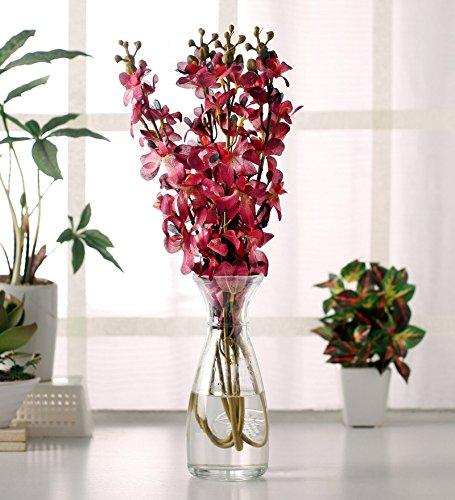 Fourwalls Mokara Orchid (Set of 4, Purple)
