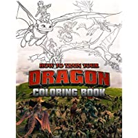 How To Train Your Dragon Book: Over 50 Illustration about Hiccup and Friend Funny How to Train your Dragon Coloring Books
