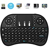 2018 NEW LCBOX I8 2.4GHz Mini Wireless Keyboard With Touchpad Mouse ,Handheld Remote,Pi 2/3,KODI Android TV Box, HTPC/ IPTV, Windows 7 8 10