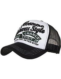 Gorra De BéIsbol ZARLLE Apliques Bordados NúMero Baseball Cap Ajustable  Hats Hip-Hop Tejido De 3bf533bf3b1