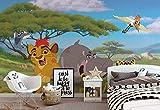 Disney Lion King Vlies Fototapete Fotomural - Wandbild - Tapete - 416cm x 290cm / 4 Teilig - Gedrückt auf 130gsm Vlies - 11872VEXXXXL - Disney Der König der Löwen
