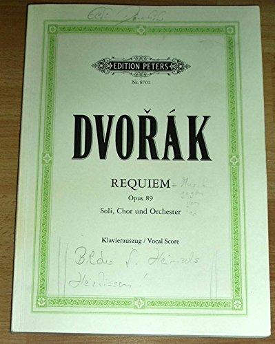 Requiem. Klavierauszug