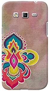 Kasemantra Rangoli On Canvas Case For Samsung Galaxy Grand 2