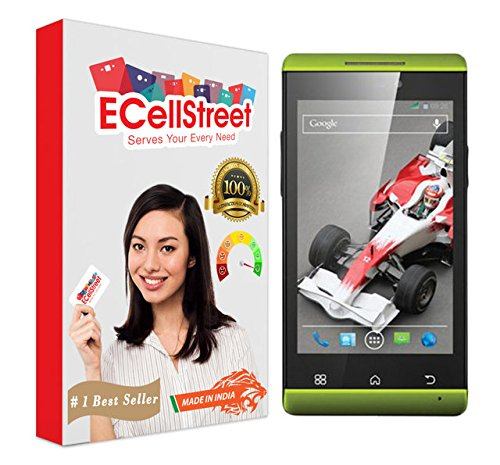 ECellStreet Premium Tempered Glass 0.3mm Toughened Glass Screen Protector For Xolo Hive 8X 1000